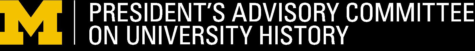President's Advisory Committee on University History